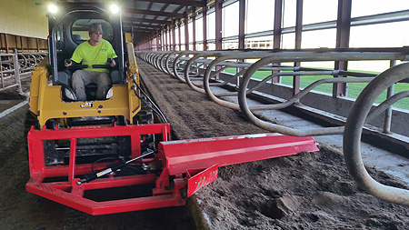 Fritsch Power Bedding Groomer