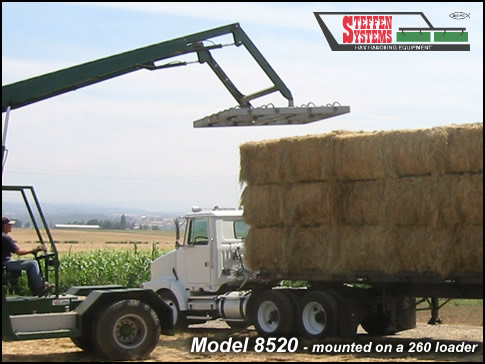 Steffen Systems 8520 Square Bale Handler