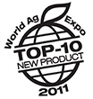 Chosen by World Ag Expo 2011 as a Top 10 New Product